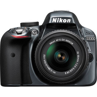 Nikon D3300 (with AF-S 18-55mm VR II + 55-200mm VR Kit Lens)