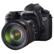 Canon EOS 6D kit (EF 24-105mm f/4L IS USM) DSLR,  black