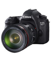 Canon EOS 6D Kit (EF 24-105mm F/4L IS USM) DSLR (Black)