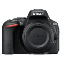 Nikon D5500 DSLR Camera, Body only,  black