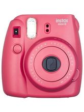 Fujifilm Instax Mini 8R Instant Camera, raspberry