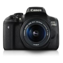 Canon EOS 750D Kit DSLR Camera (with EF-S 18-55mm IS STM Lens),  black