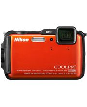 Nikon Coolpix AW120, orange