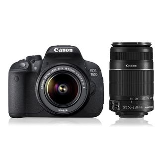 Canon EOS 700D Double Zoom DSLR Camera ( with EF S18-55 IS II & EF S55-250 IS II Lens)