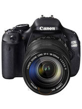 Canon EOS 600D DSLR With Kit II (EF S18-135mm IS) Lens (Black)