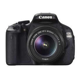 Canon EOS 600D SLR with Kit I EF-S18-55mm IS II Lens
