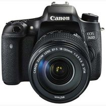 Canon EOS 760D Kit DSLR Camera (with EF-S 18-135mm IS STM Lens),  black
