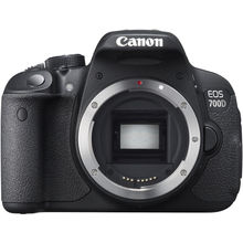 Canon EOS 700D DSLR (Body Only), canon-black