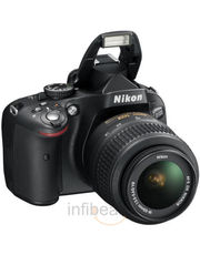 Nikon DSLR D5100 (18-55mm VR Lens) Free 4 GB SD Card & Bag