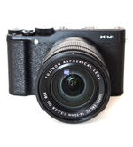 FujiFilm FinePix X-M1 With (Kit 16-50 MM), black