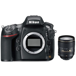 Nikon D800E DSLR (with 24-120mm F/4G ED VR Lens)
