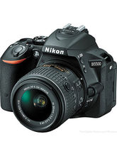 Nikon D5500 DSLR Camera (with D-ZOOM KIT: AF-S 18-55mm VRII+ AF-S 55-200mm VR Kit Lenses), black