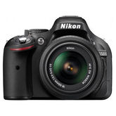 Nikon D5200 DSLR (with AF-S 18-55mm VR Kit Lens) (Black)