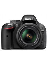 Nikon D5200 DSLR (with AF-S 18-55mm VRII Kit Lens) (Black)
