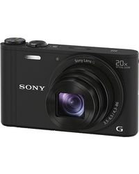 Sony Cyber-shot DSC-WX350,  black