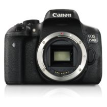 Canon EOS 750D DSLR Camera(Body Only),  black