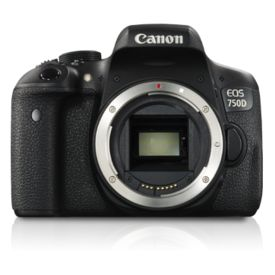 Canon EOS 750D DSLR Camera (Body Only)