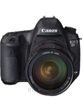 Canon EOS 5D Mark III DSLR Kit (EF 24-105mm F/4L IS USM) Lens (Black)