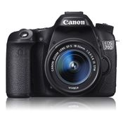Canon EOS 70D Kit (EF-S18-55 IS STM) DSLR,  black