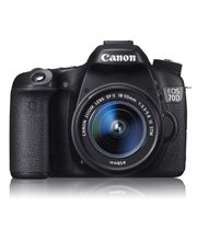 Canon EOS 70D Kit (EF-S18-55 IS STM) DSLR (Black)