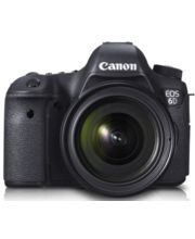 Canon EOS 6D Kit II (EF 24-70 F4L IS USM) DSLR, Black
