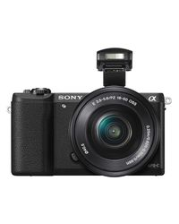 Sony ILCE-5100L Mirrorless Camera (with SELP1650 Lens),  black