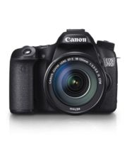 Canon EOS 70D Kit II (EF-S18-135 IS STM) DSLR (Black)