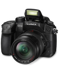 Panasonic Lumix DMC-GH4, Body Only,  black