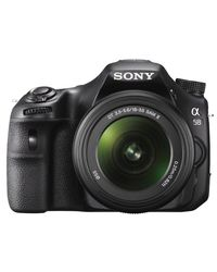 Sony SLT-A58K DSLR (With 18-55 mm Kit),  black