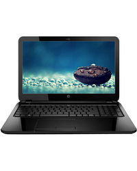 HP 15-r035TU Laptop (4th Gen Intel Celeron Dual Core-N2830/ 4GB RAM/ 500GB HDD/ Free DOS),  black