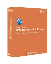 Stellar Phoenix Data Recovery for iOS,  blue