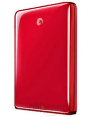 Seagate 500 Gb Free Agent Go-Flex Red Color
