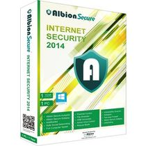 Albion Secure Internet Security 2014, multicolor, 1 user