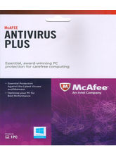 McAfee Antivirus Plus Licence Key 1 Year, multicolor, 1 user