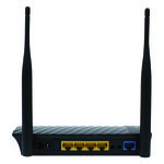 Digisol DG-HR3400 300 Mbps Wireless Broadband Home Router, black
