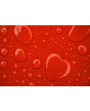 Eclipse ECLS0032 Love Water Drops Laptop Skin, multicolor
