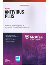McAfee Anti-Virus Plus (1 PC / 1 Year) with CD