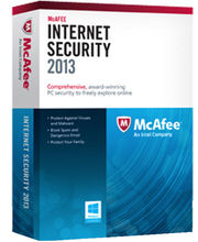 McAfee internet Security Suite 2013 (3 user) (Multicolor)