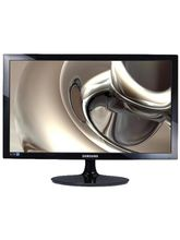 "Samsung Simple LED 23.6"" monitor with High Glossy Finish, LS24D300HS, black"