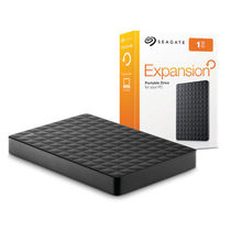Seagate Expansion 1TB Portable External Hard Drive USB 3.0,  black