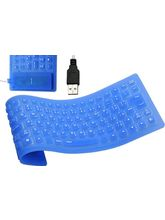 Callmate Flexible Usb Keyboard, dark blue