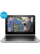 HP Pavilion Notebook 11-k106TU x360 (CoreM3/ 4GB RAM/ 1TB HDD/ Win 10/ Touch)