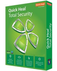 Quick Heal Total Security, standard-green, 1 user