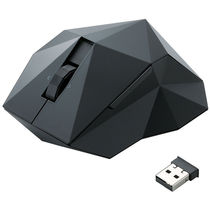 "Elecom"" ORIME"" 5 button, Black wireless laser Mouse"