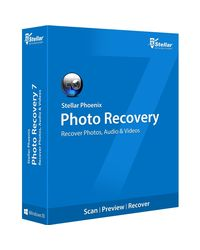 Stellar Phoenix Photo Recovery (Windows),  blue
