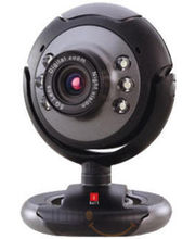 iBall Face2Face C8.0 Web Camera (Black)