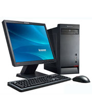 "Lenovo M5800 (57-321127) (AMD Quad Core A8 5500/ 2GB RAM/ 500GB HDD/ 18.5"" Screen/DOS), black"