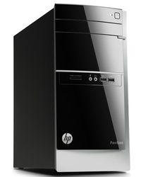 HP 500-224IX Desktop Pc,  black
