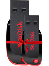 SanDisk 8GB+16GB Cruzer Blade Pen Drive (Pack of 2)