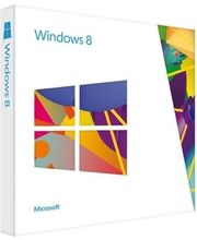 Microsoft Windows 8 Upgrade Pack, multicolor